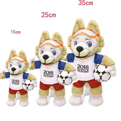 Russia 2018 World Cup Mascot Zabivaka Plush Toy 7
