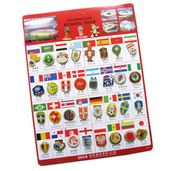 Russia 2018 FIFA World Cup 34 Pin Set 1