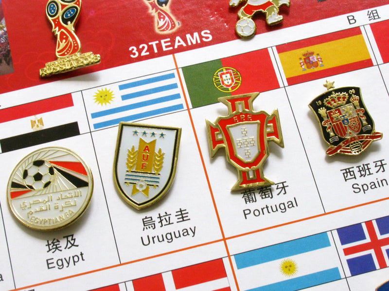 Russia 2018 FIFA World Cup 34 Pin Set 6