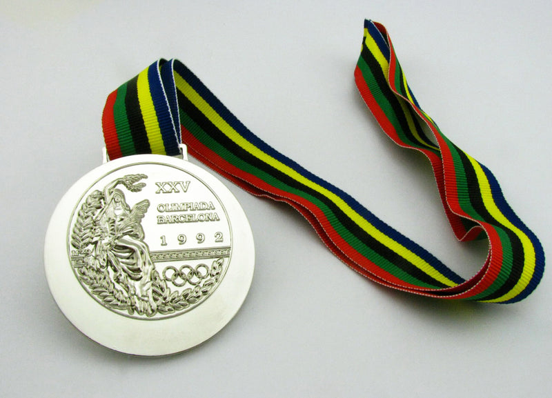 Barcelona 1992 Olympic Silver Medal 4