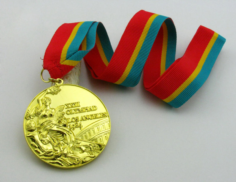 Los Angeles 1984 Gold Medal 4