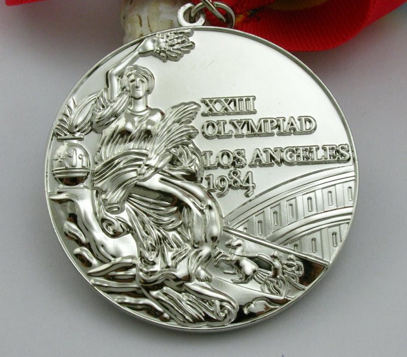 Los Angeles 1984 Olympic Silve Medal 1