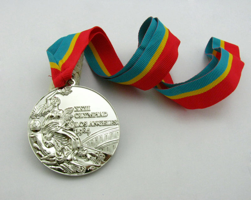 Los Angeles 1984 Olympic Silve Medal 4