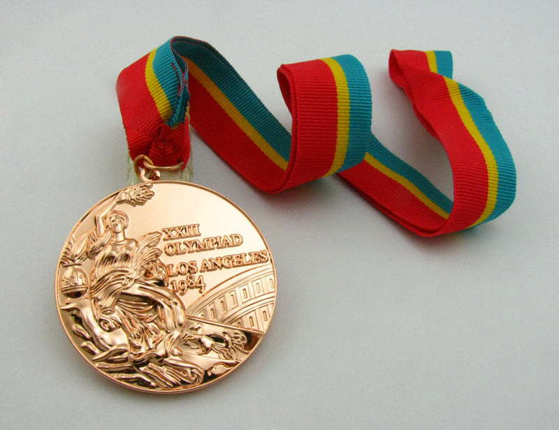 Los Angeles 1984 Olympic Bronze Medal 4
