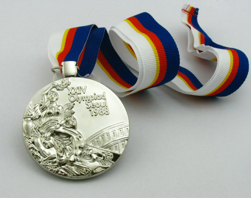 Seoul 1988 Olympic Silver Medal 4
