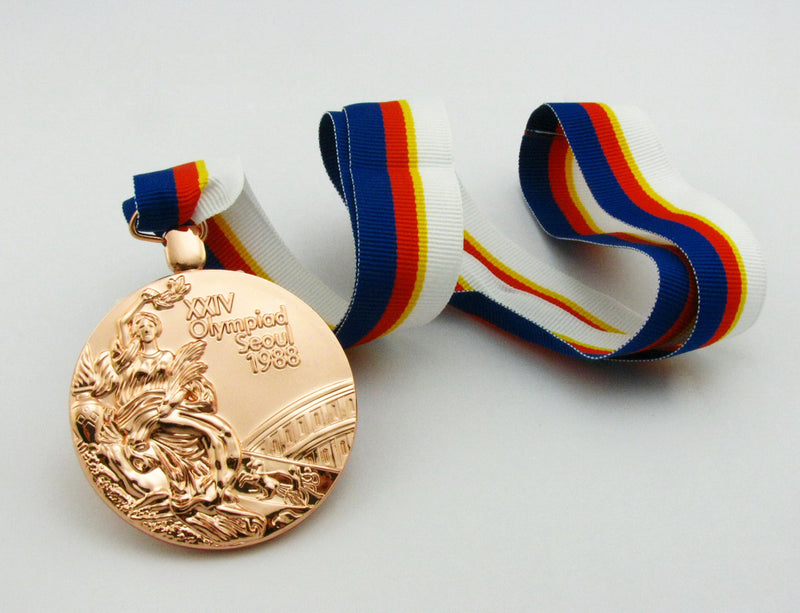 Seoul 1988 Olympic Bronze Medal 4