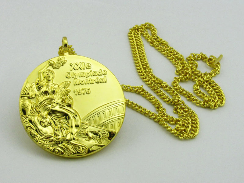 Montreal 1976 Olympic Gold Medal 4