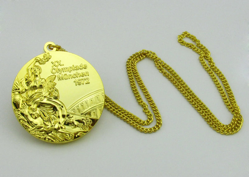 Munich 1972 Olympic Gold Medal 4