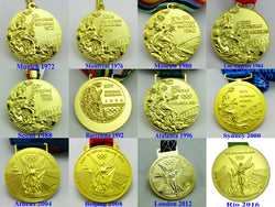 12 Olympic Gold Medals Set 1