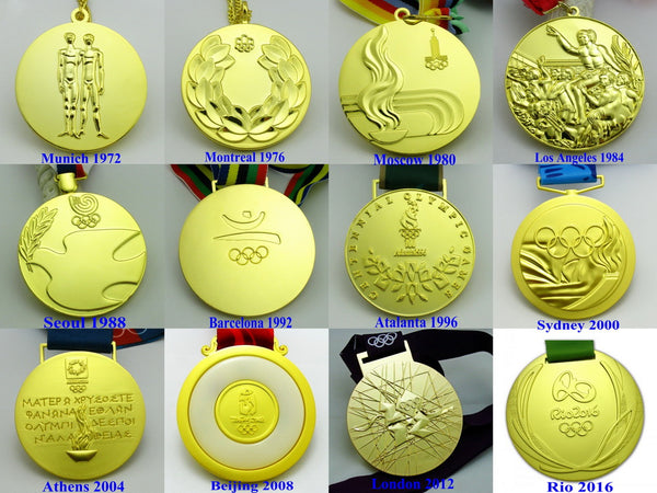 12 Olympic Gold Medals Set 2