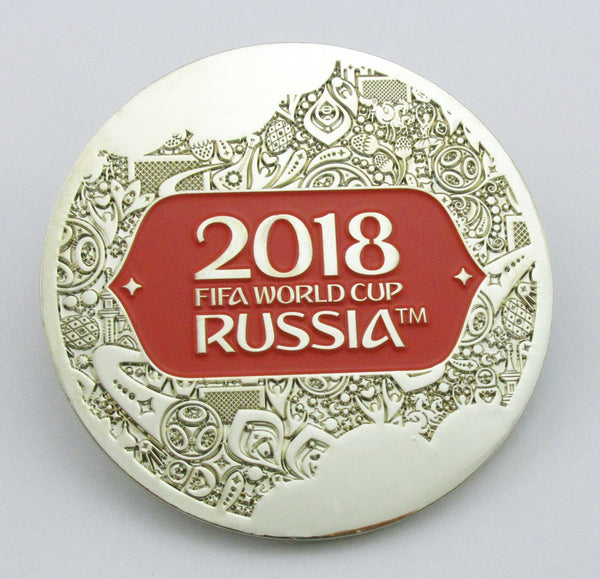 2018 Russia FIFA World Cup Silver Medal 1