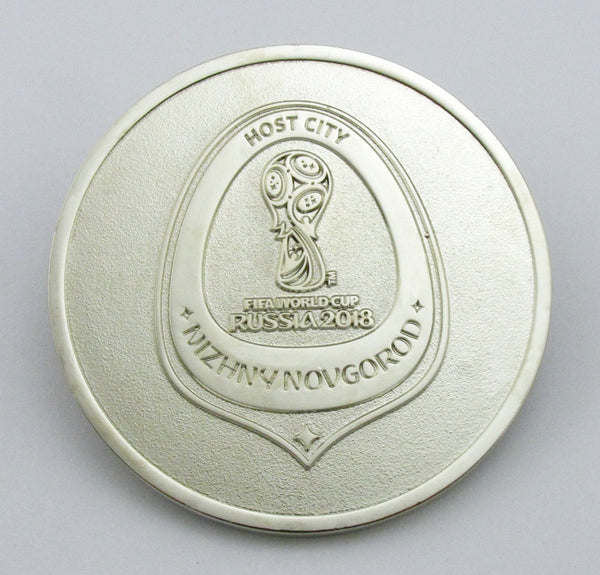 2018 Russia FIFA World Cup Silver Medal 2