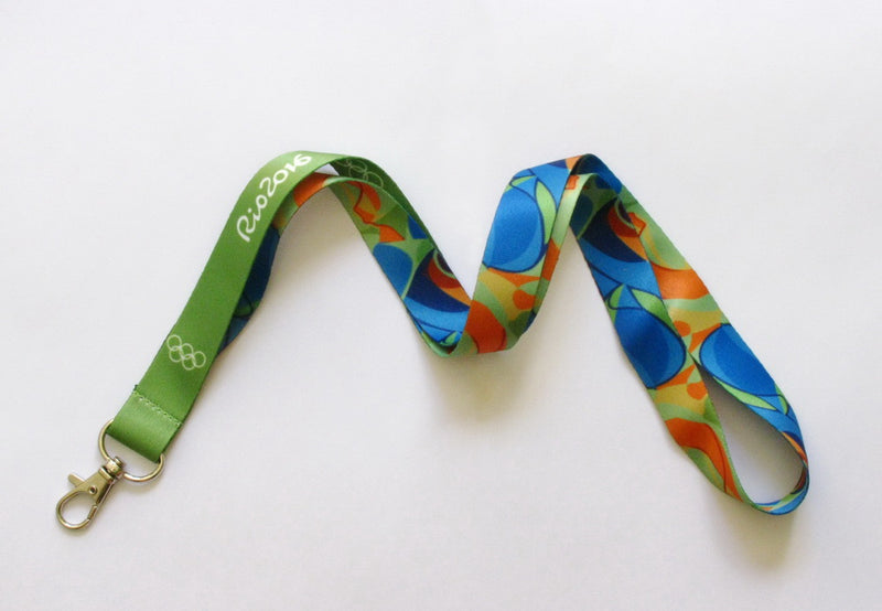 Rio 2016 Olympic Winners Medal Ribbon Lanyard 2