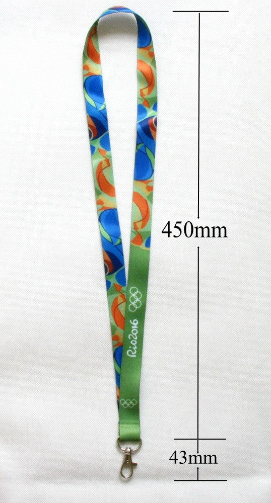 Rio 2016 Olympic Winners Medal Ribbon Lanyard 6