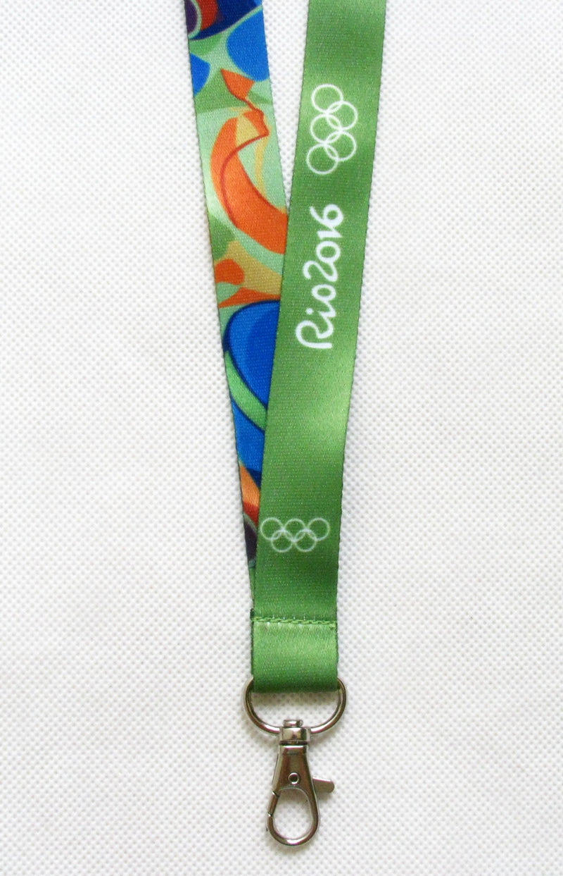 Rio 2016 Olympic Winners Medal Ribbon Lanyard 5