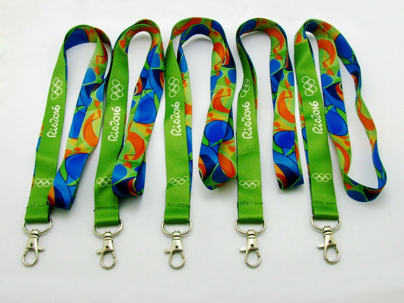 Rio 2016 Olympic Winners Medal Ribbon Lanyard 8