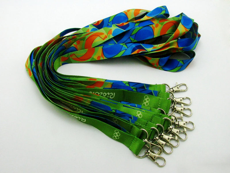 Rio 2016 Olympic Winners Medal Ribbon Lanyard 9
