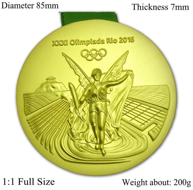 Rio 2016 Olympic Gold Medal 1