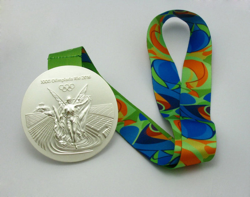 Rio 2016 Olympic Silver Medal 4
