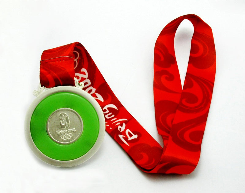 Beijing 2008 Olympic Silver Medal 4