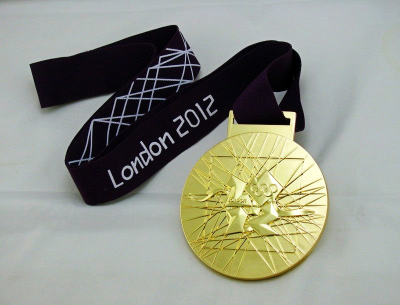 London 2012 Gold Medal 4