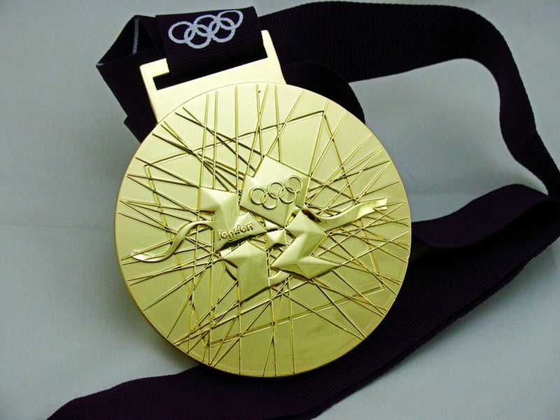 London 2012 Gold Medal 1