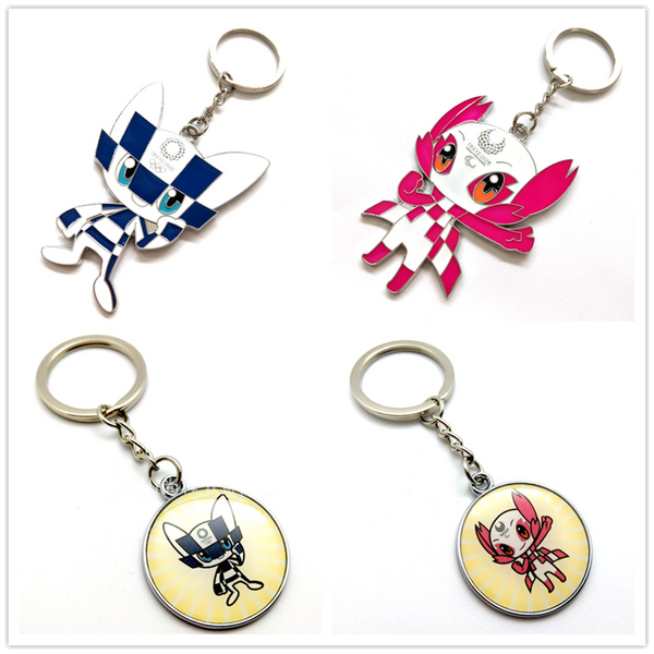 Tokyo 2020 Olympic/Paralympic Games Mascot Keychain (Optional)
