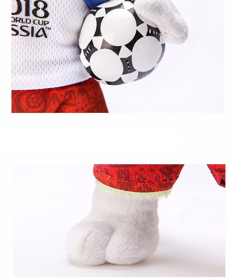 Russia 2018 World Cup Mascot Zabivaka Plush Toy 5