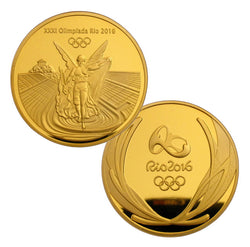 Rio 2016 Olympic Gold Medal Coin