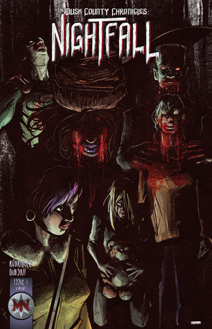 The Dusk County Chronicles: Nightfall #1 - Cover B