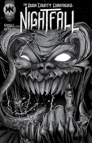 The Dusk County Chronicles: Nightfall #1 - Cover C (Midnight Edition - LTD 25 Copies)