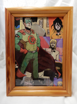 Framed Character Mosaic - Commander