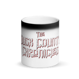 Dusk County Matte Black Magic Mug