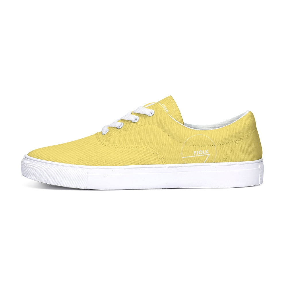 Classic Yellow Lace-Up