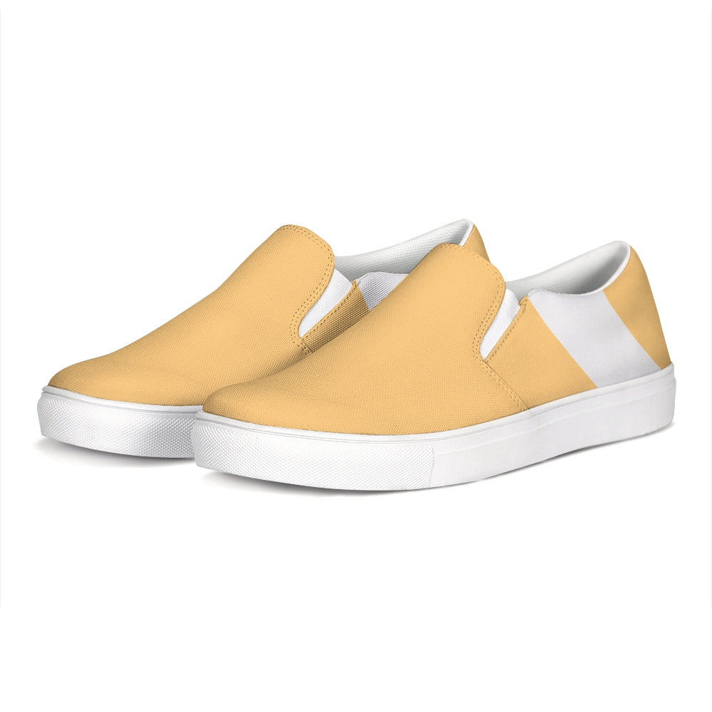 Uppsala Marigold-White Slip-On