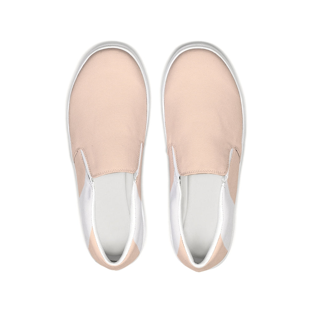 Uppsala Sand-White Slip-On