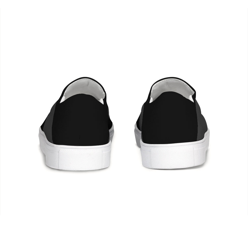 Uppsala Black-Grey Slip-On