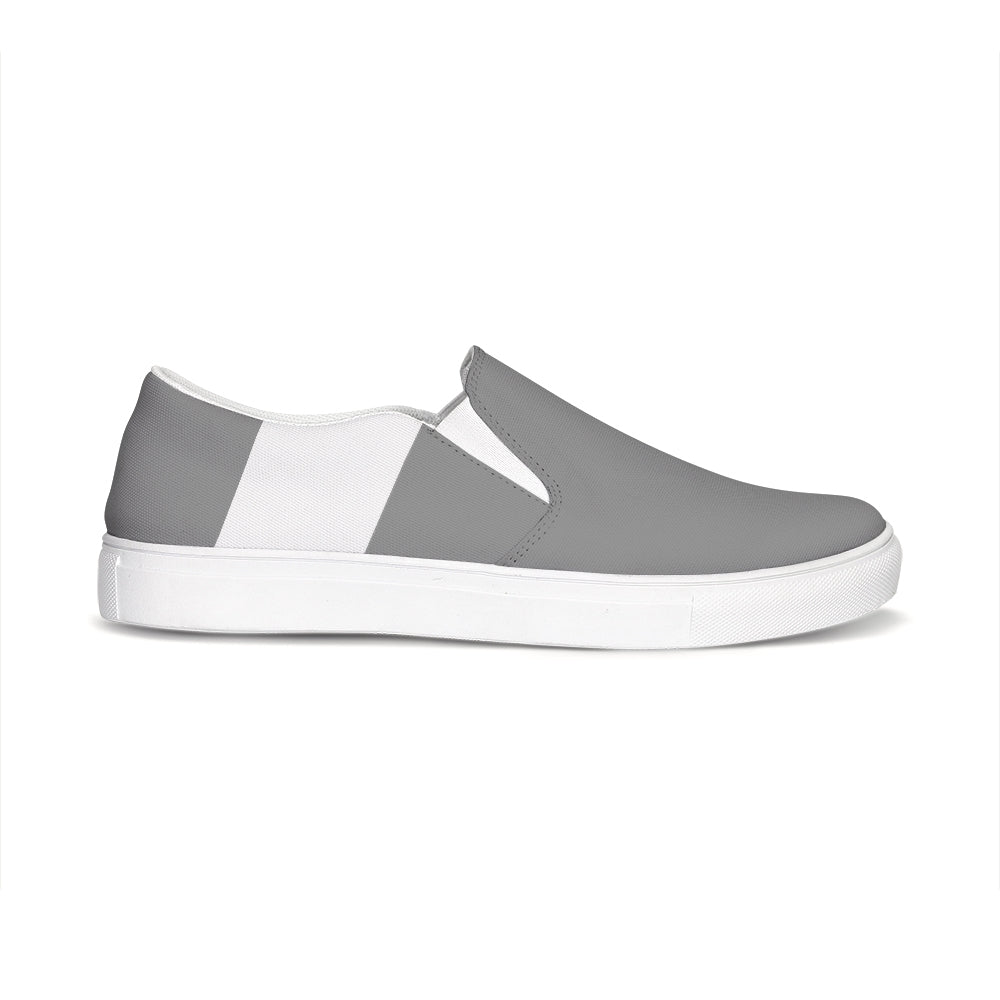 Uppsala Grey-White Slip-On