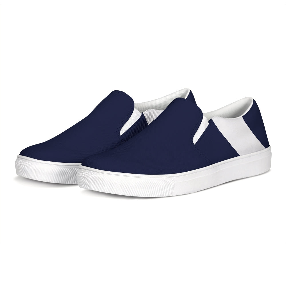 Uppsala Navy-White Slip-On