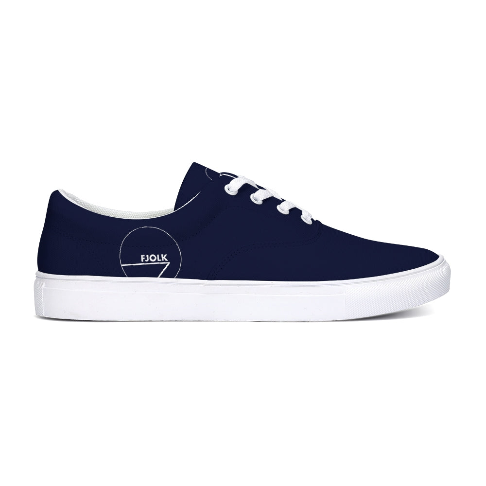 Classic Navy Lace-Up