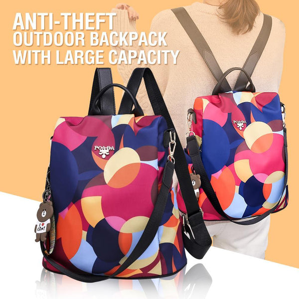 Anti-theft Outdoor Backpack With Large Capacity
