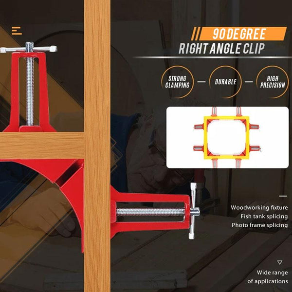 90 Degree Right Angle Clip