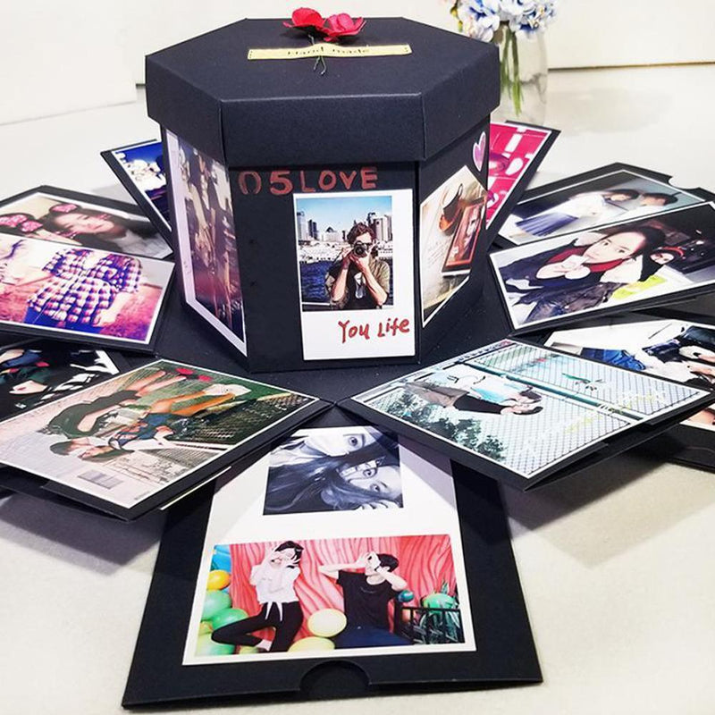 DIY Magic Gift Box - Special Photo Album