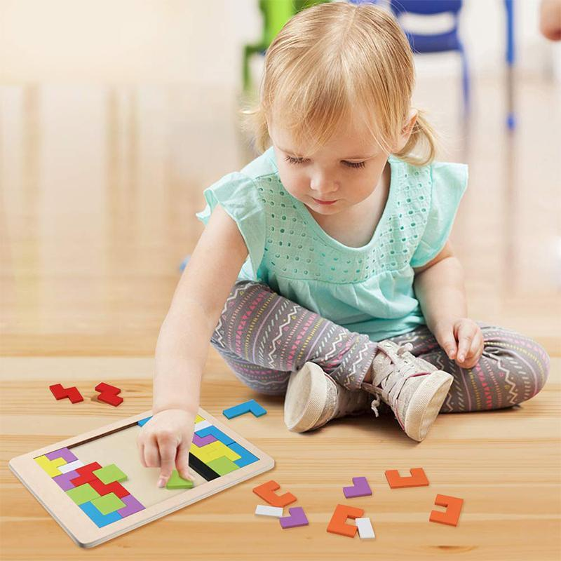 【SUMMER SALE:50% OFF】Tetris Puzzle for Baby Kids