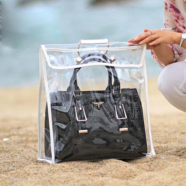 Fashionable Transparent Dust-proof Bag