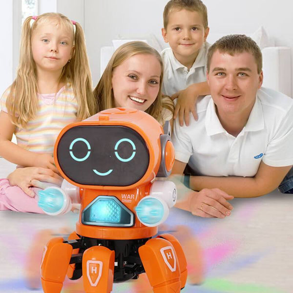 Electric Singing Dancing Lighting Robot Toy