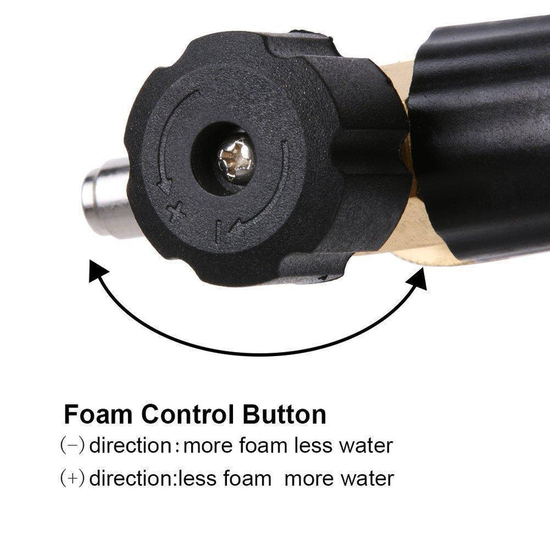Domom Adjustable Foam Cannon, Quick Connector Foam Blaster