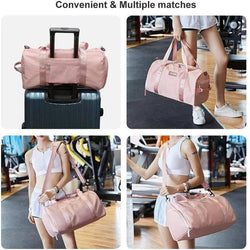 Gym & Travel Duffel Bag with Dry Wet Pocket --Free Shipping