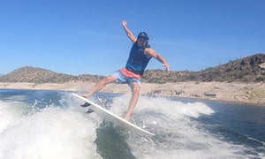 Advanced Wake surf lessons