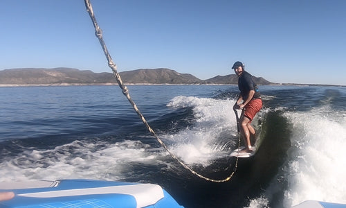 Wake surf lessons for beginners